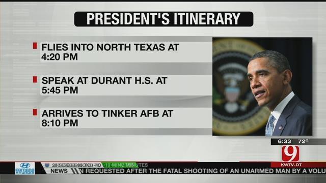 President Obama To Visit Durant On Wednesday