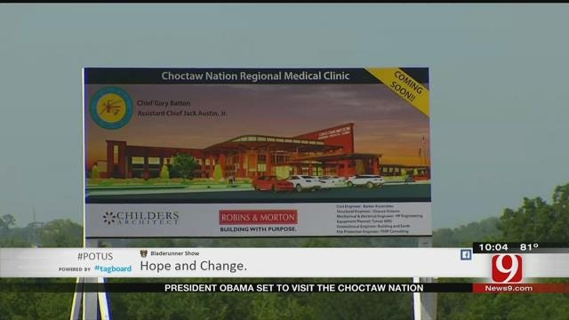 Durant Residents Prepare For President Obama's Arrival