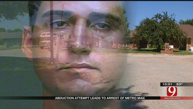 Man Accused Of Trying To Abduct Children From SW OKC Neighborhoods