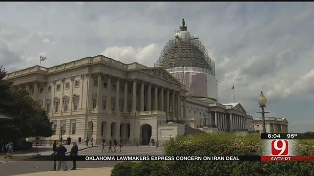 OK Lawmakers React After Deal With Iran Is Reached