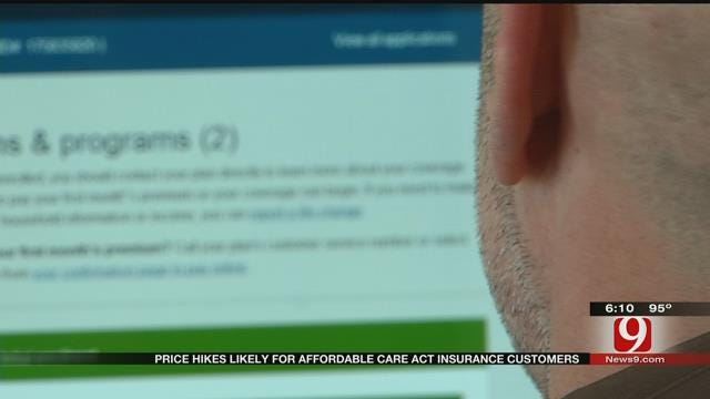 OK Insurance Companies Participating In 'Obamacare' Propose Rate Hikes