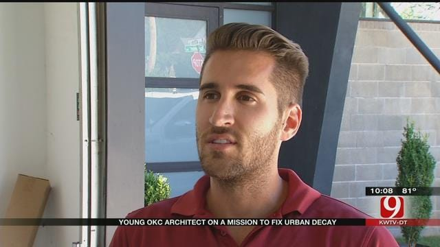 Young Architect Concentrates On Midtown Area