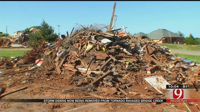 Clean Up Process Begins After Bridge Creek Tornado