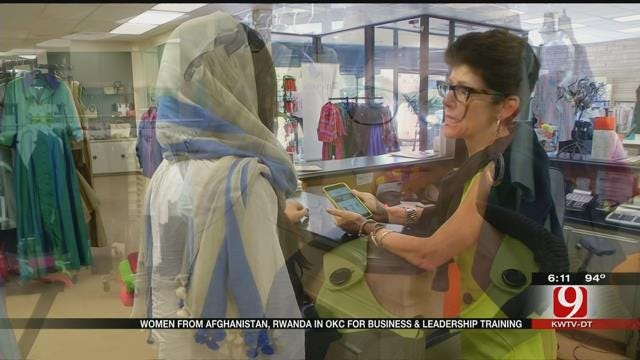 OKC Business Owners Work With Mentees From Rwanda, Afghanistan