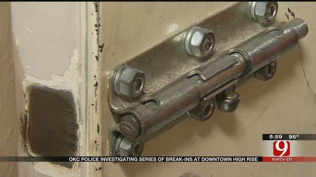 Series Of Break-Ins Reported At Downtown OKC Businesses