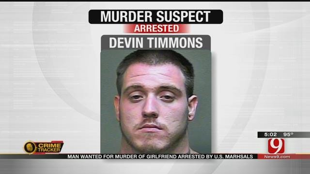 Man Wanted For Murder Of Girlfriend Arrested By US Marshals