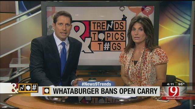 Trends, Topics & Tags: No Open-Carry At Whataburger