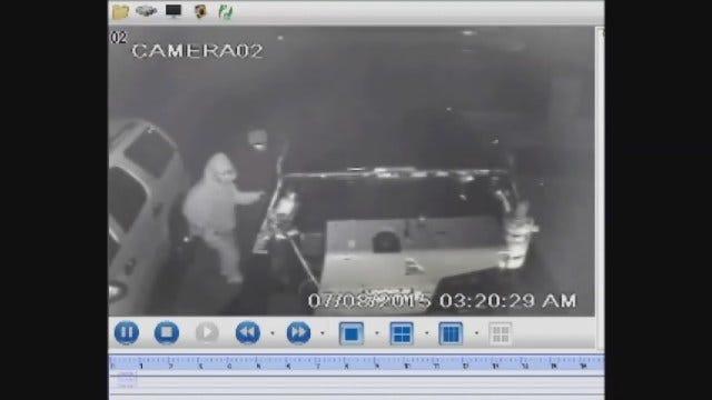 WEB EXTRA: OKC Police Release Video Of Suspects In Auto Burglary