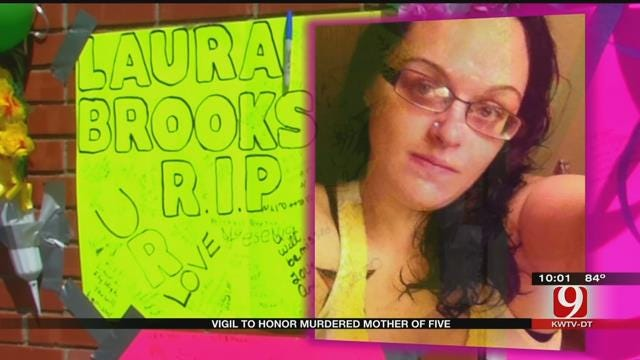 Family Holds Vigil To Honor Laura Brooks, Murdered Mother Of 5