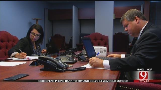 OSBI Agents Man Tip Line In Moore Cold Case