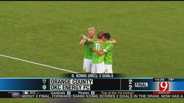 Energy FC Draws With Orange County