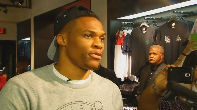 Russell Westbrook Talks About His First Shoe