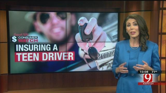Consumer Watch: Saving Money On Insurance For Teen Drivers