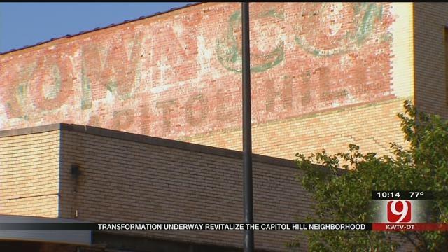 Transformation Underway For OKC's Capitol Hill Neighborhood