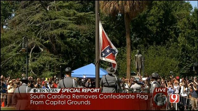 WEB EXTRA: South Carolina Confederate Flag Coming Down
