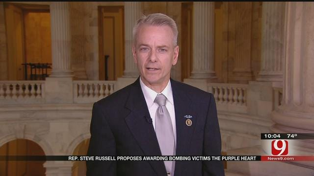 Rep. Steve Russell Proposes Awarding OKC Bombing Victims The Purple Heart