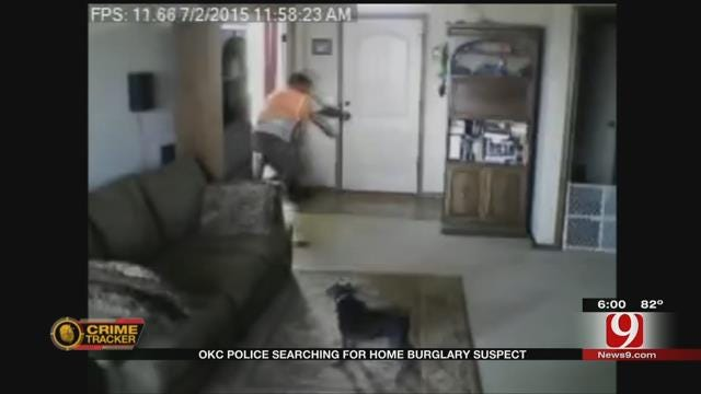 OKC Police Search For Man Who Broke Into Tornado Victim's Home