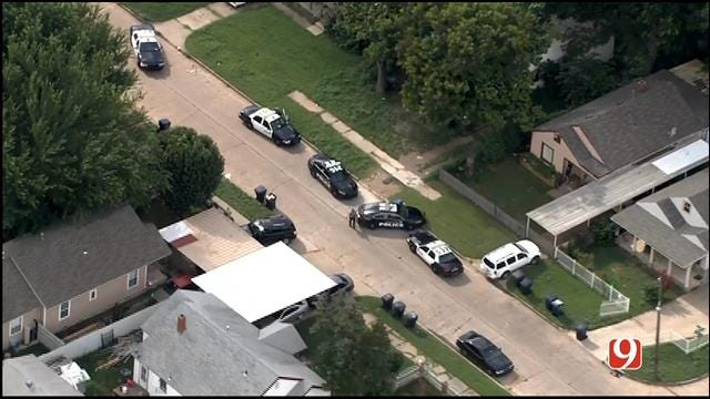 WEB EXTRA: SkyNews 9 Flies Over Stabbing At SW OKC Home