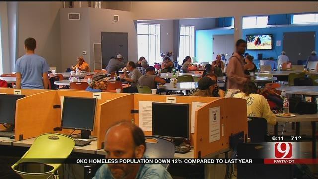 Oklahoma City's Homeless Population Down 12 Percent