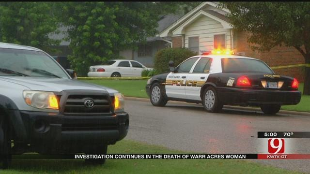 Investigation Continues Into Death Of Warr Acres Woman