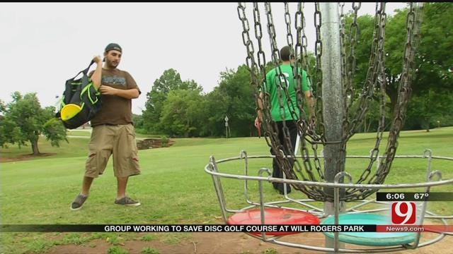 Maps 3 Project To Affect Disc Golf Course At Will Rogers Park