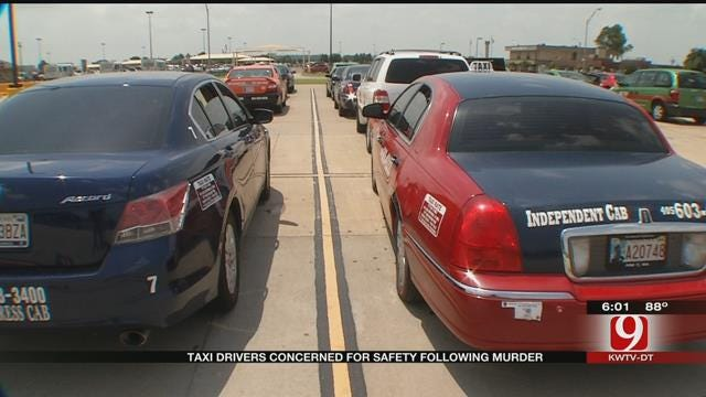 Taxi Drivers Afraid After Taxi Driver's Homicide In SW OKC