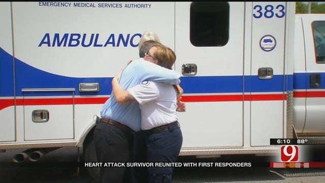 OK Man Meets EMSA Crew Who Helped Save His Life