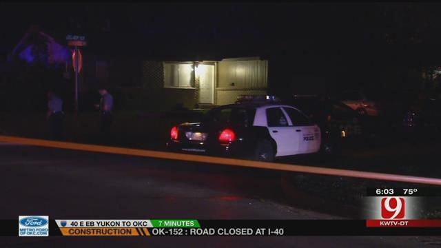 OKC Police Shoot, Kill Burglary Suspect
