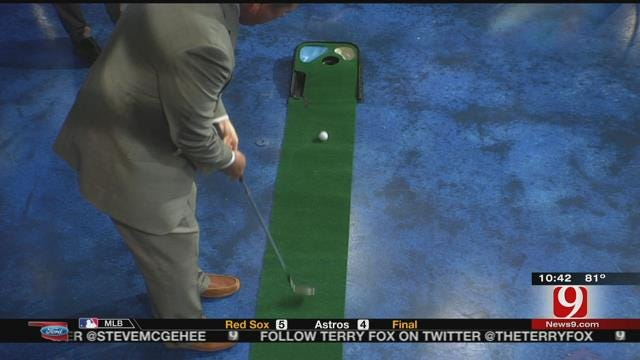 Dean and John Attempt To Putt With a Wedge