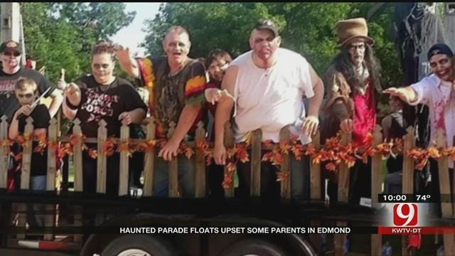Parents Not Too Happy About Zombies At Edmond's LibertyFest Parade