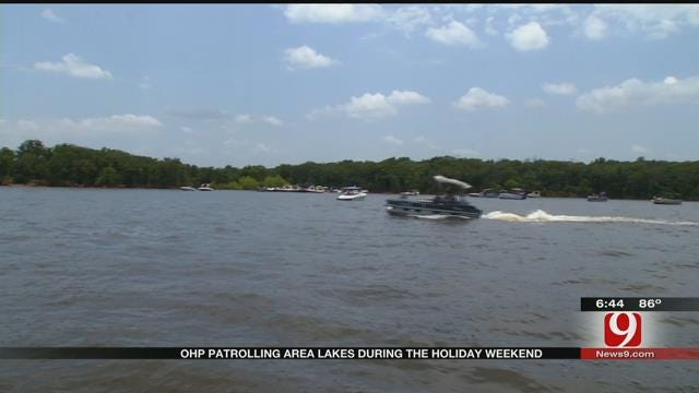 Troopers Patrol Lakes To Ensure Safety During July 4 Holiday