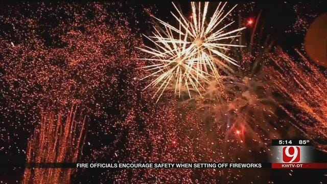 Fire Officials Encourage Firework Safety