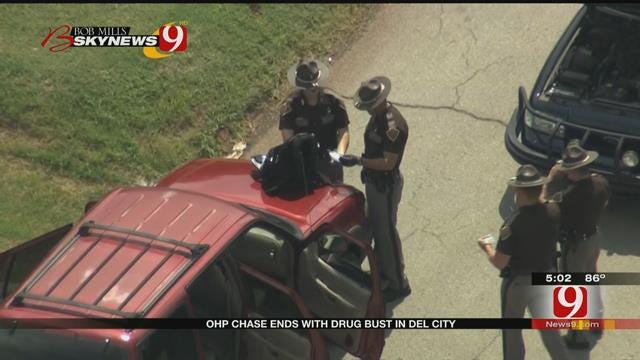 One Person In Custody After High Speed Chase In Del City