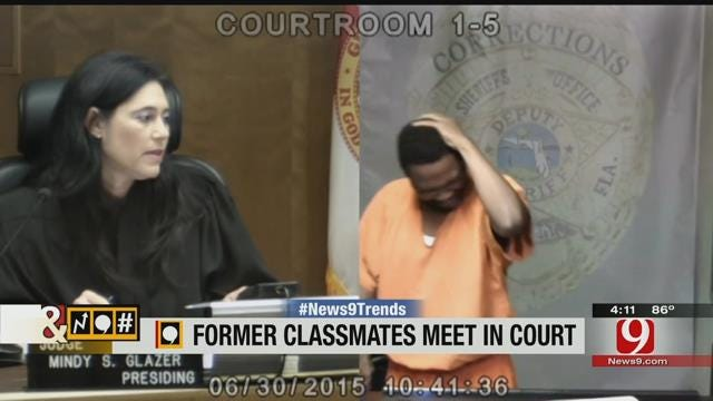 Trends, Topics, and Tags: Former Classmates Meet In Court