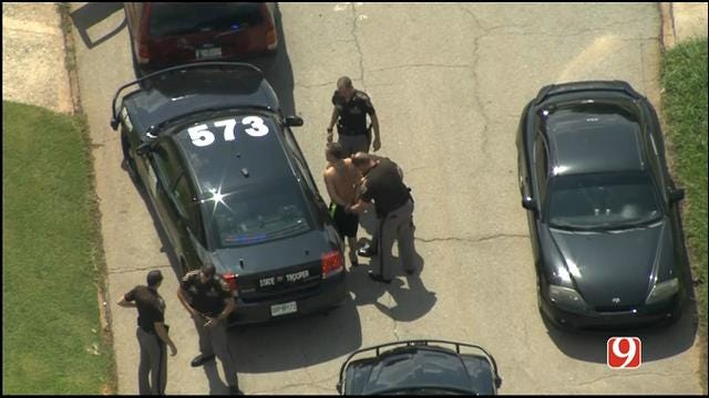 WEB EXTRA: One Person In Custody After High Speed Chase In Del City