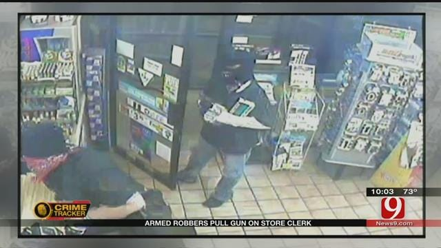 Armed Robbers Pull Gun On Store Clerk In Moore