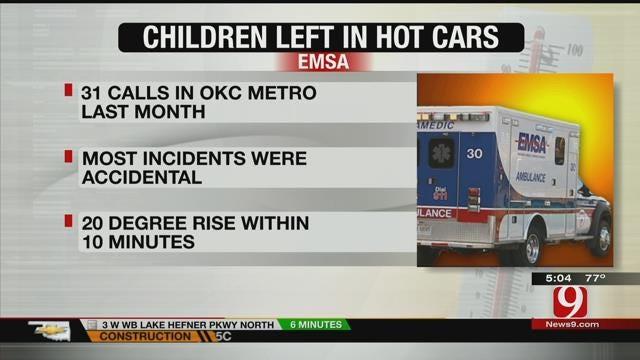EMSA: Number Of Kids Left In Hot Cars Becoming Alarming Trend