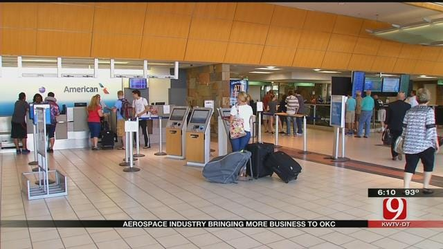 Alaska Airlines Indicator Of OKC's Soaring Business Climate