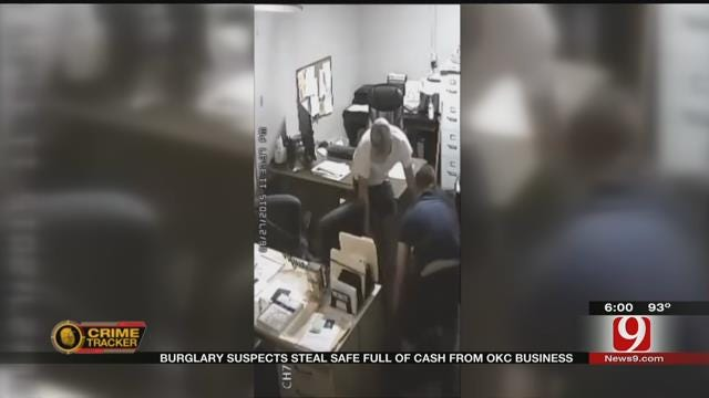 Burglary Suspects Steal Safe Full Of Cash From OKC Business