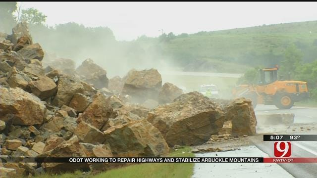 ODOT Approves Emergency Contracts To Expedite Road Repairs