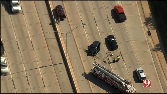 WEB EXTRA: Bob Mills SkyNews 9 HD Flies Over Fatal Wreck On I-40