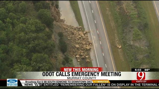 ODOT Holding Emergency Meeting To Discuss Roads Damaged In Storms