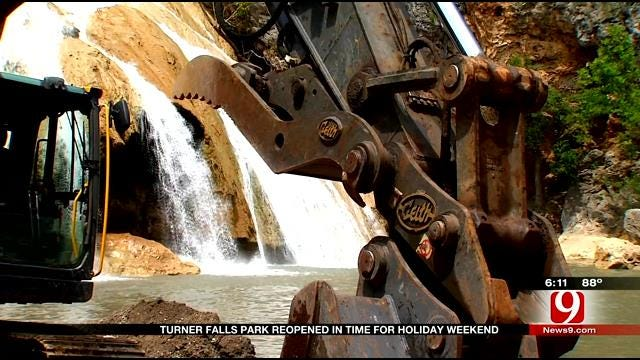 Turner Falls Reopens In Time For Holiday Weekend