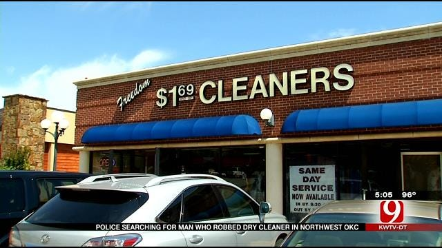 Police Searching For Man Who Robbed NW OKC Dry Cleaner