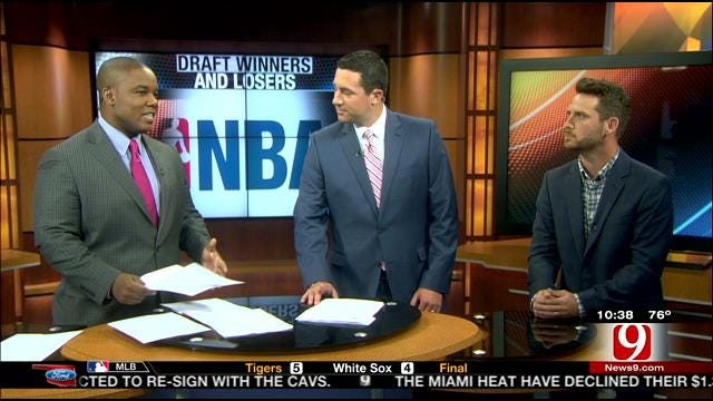 NBA Draft Winners and Losers With Royce Young