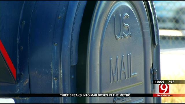 Police: Two U.S. Postal Service Mailboxes Were Pried Open In SE OKC