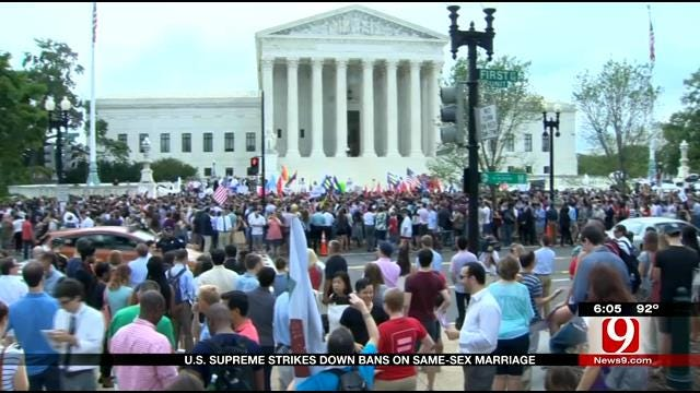 Oklahomans React To Supreme Court Ruling On Same Sex Marriage