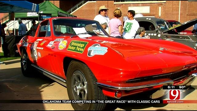 """Red Dirt Diaries: Oklahoma Team Competing In """"The Great Race"""" With Classic Cars"""