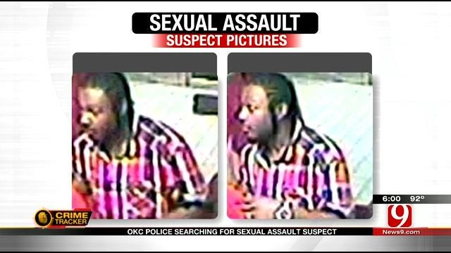 OKC Police Release Photos Of Man Accused Of Sexually Assaulting Woman