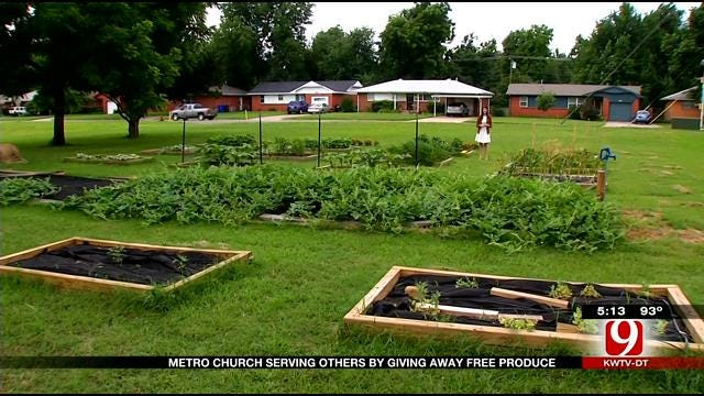 Metro Church Serving Others By Giving Away Free Produce